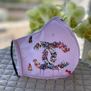 Women's designer face covers